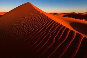 Sand Dunes of Erg Chebbi in the Sahara Desert, Morocco by Marcin Dobas