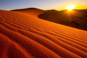 Sand Dunes of Erg Chebbi in the Sahara Desert by Marcin Dobas