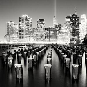 Brooklyn Piles, Study 3, New York City, 2013 by Marcin Stawiarz