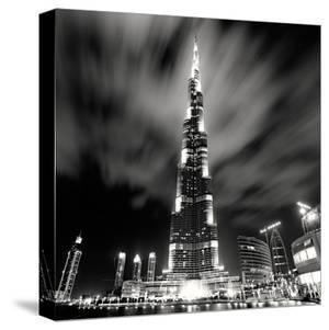 Burj Kahlifa at Night, Study 1, Dubai, UAE by Marcin Stawiarz