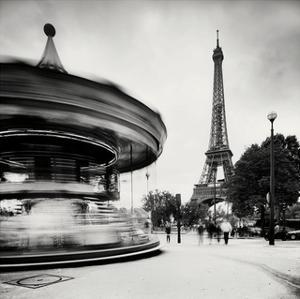 Merry Go Round, Study 1, Paris, France by Marcin Stawiarz