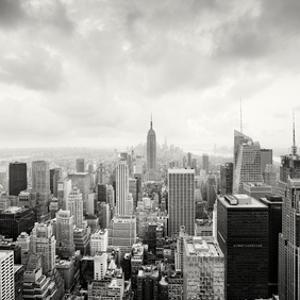 Midtown Manhattan, Study 1, New York City, 2013 by Marcin Stawiarz