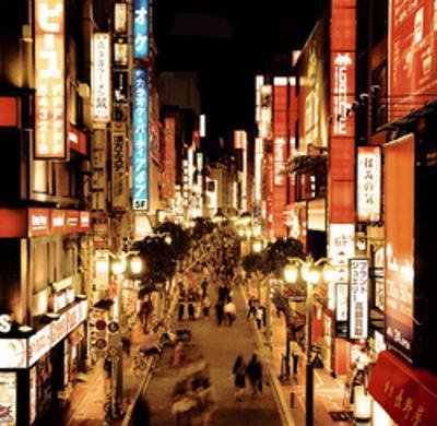 Shinjuku Neons, Tokyo