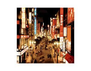 Shinjuku Neons, Tokyo by Marcin Stawiarz