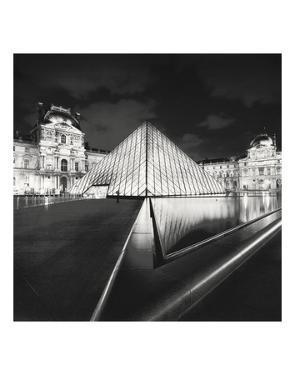 The Louvre, Study 4, Paris, France by Marcin Stawiarz
