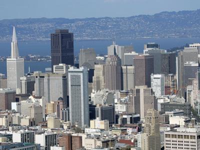 San Francisco Skyline by Marcio Jose Sanchez