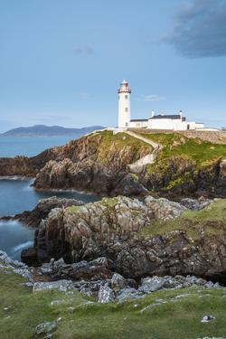 Fanad Head (Fánaid) lighthouse, County Donegal, Ulster region, Ireland, Europe. Lighthouse and its  by Marco Bottigelli