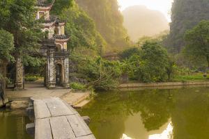 Ninh Binh, Northern Vietnam. Bich Dong Pagoda Nearby Ngu Nhac Mountain. Mountain. by Marco Bottigelli