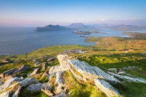 Valentia island (Oilean Dairbhre), County Kerry, Munster province, Ireland, Europe. View from the G by Marco Bottigelli