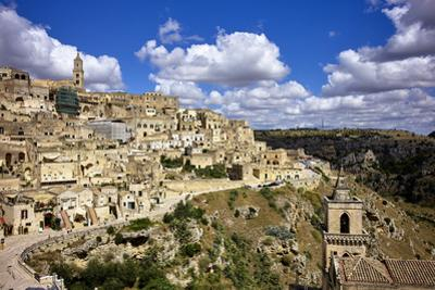 Matera townscape, Basilicata, Italy, Europe by Marco Brivio