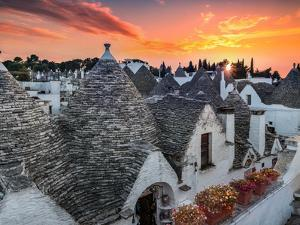 Alberobello Sunset by Marco Carmassi