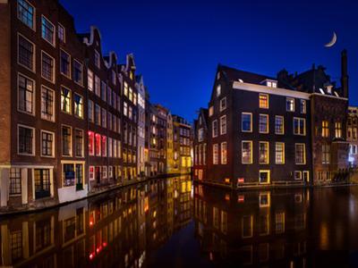 Amsterdam Night by Marco Carmassi
