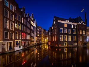 Amsterdam Night by Marco Carmassi