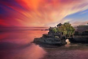 Batu Bolong Temple by Marco Carmassi