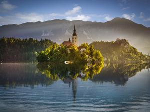 Bled Lake by Marco Carmassi