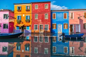 Burano Reflections by Marco Carmassi