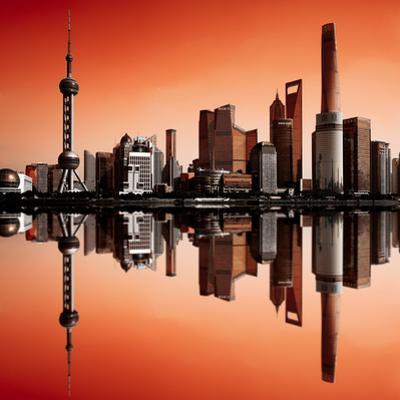 Futuristic Shanghai by Marco Carmassi