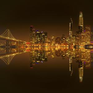 Golden Heart of San Francisco by Marco Carmassi