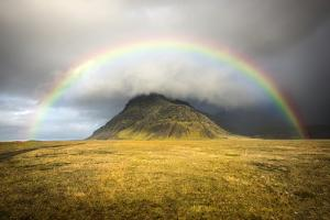 Heaven's Rainbow, Iceland by Marco Carmassi