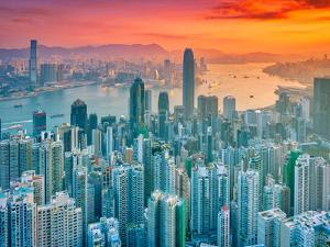 Hong Kong from the Hill by Marco Carmassi