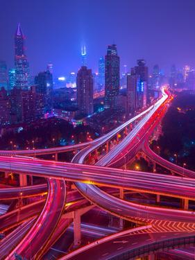 Intersection in Shanghai by Marco Carmassi
