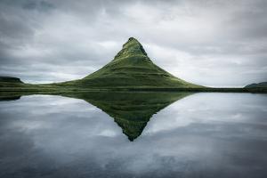 Kirkjufell the Meditation Place by Marco Carmassi
