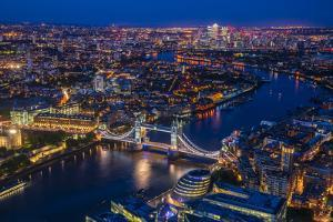 London from Shard by Marco Carmassi