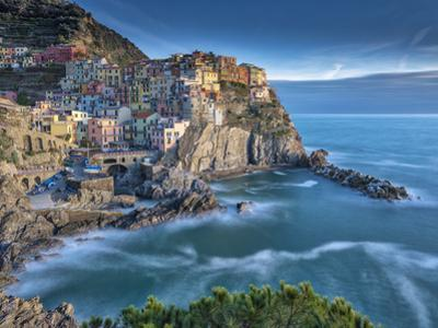 Manarola Sunset by Marco Carmassi