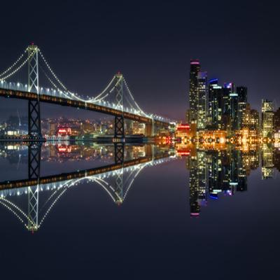San Francisco Blue Hour by Marco Carmassi