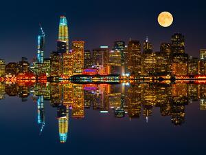 San Francisco by Night by Marco Carmassi
