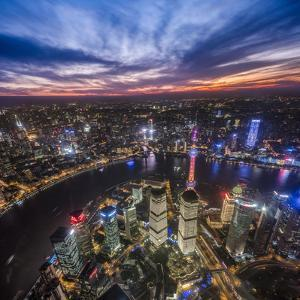 Shanghai Nights by Marco Carmassi