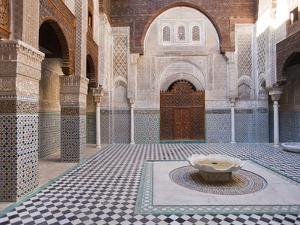Attarine Madrasah, Fez, UNESCO World Heritage Site, Morocco, North Africa, Africa by Marco Cristofori
