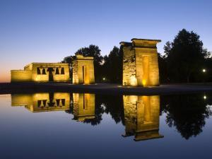 Debod Temple, Madrid, Spain, Europe by Marco Cristofori