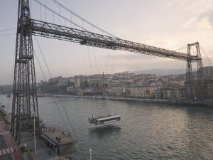 Las Arenas Transporter Bridge, UNESCO World Heritage Site, Bilbao, Euskadi, Spain by Marco Cristofori