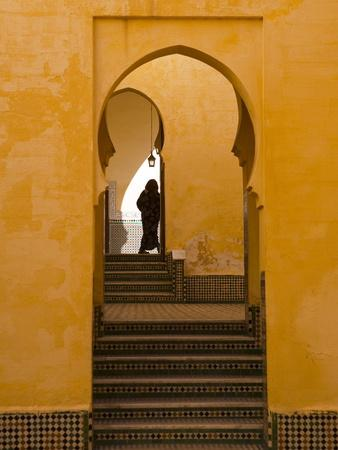 Mausoleum of Moulay Ismail, Meknes, Morocco, North Africa, Africa