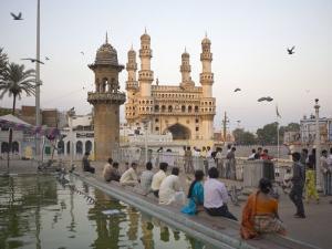 Mecca Masjid Mosque, Hyderabad, Andhra Pradesh State, India by Marco Cristofori