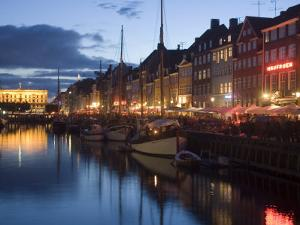 Nyhavn, Copenhagen, Denmark, Scandinavia, Europe by Marco Cristofori