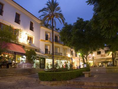 Old Town, Marbella, Malaga, Andalucia, Spain, Europe