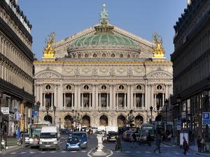 Opera Garnier Building, Paris, France, Europe by Marco Cristofori