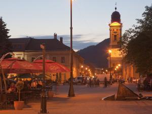 Podol Viilor Street and Libertatii Square, Baia Mare, Maramures, Romania, Europe by Marco Cristofori