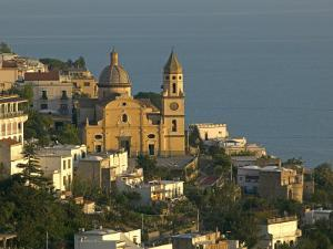 San Gennaro Church, Praiano, Amalfi Coast, UNESCO World Heritage Site, Campania, Italy, Europe by Marco Cristofori