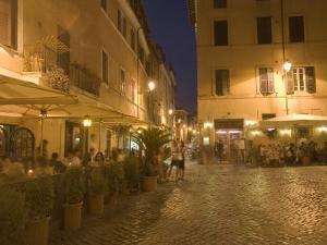 Scala Street, Trastevere, Rome, Lazio, Italy, Europe by Marco Cristofori