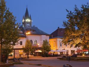 Stephen's Tower, Libertatii Square, Baia Mare, Maramures, Romania, Europe by Marco Cristofori