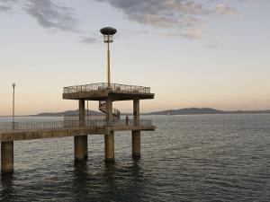 Wharf, Burgas, Black Sea Coast, Bulgaria, Europe by Marco Cristofori