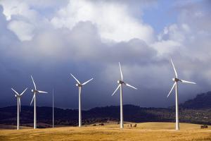 Wind Farm in Spain by Marco Cristofori