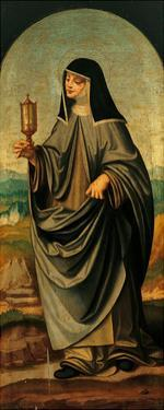 St. Clare by Marco D'oggiono