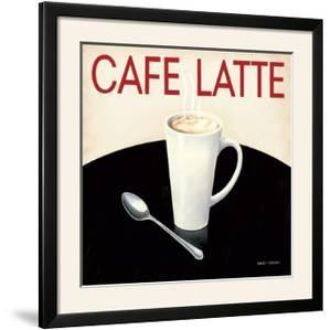 Cafe Moderne I by Marco Fabiano