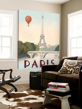 City Skyline Paris by Marco Fabiano
