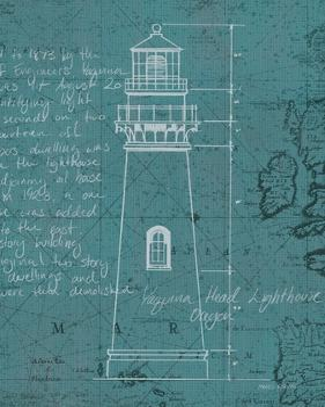 Coastal Blueprint VII by Marco Fabiano