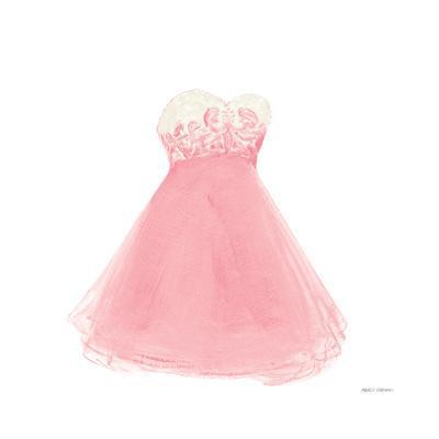 Pink Dress Fitting